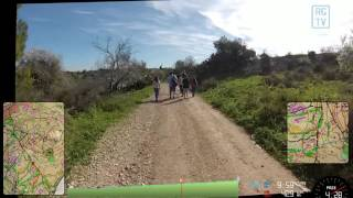 Israel Orienteering Middle Distance Race at Gimzo 13 FEB 2016