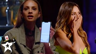 Ryan Tricks Does Mind-blowing Magic With Alesha Dixon on AGT 2020 Judge Cuts | Magicians Got Talent