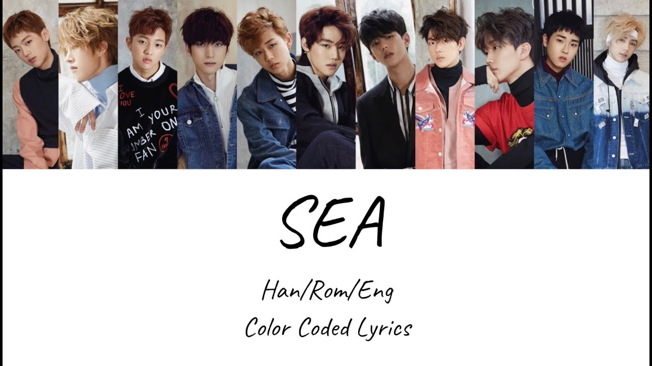 Golden Child - Sea Color Coded Lyrics