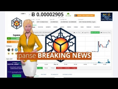 Expanse $EXP Gains 59% In the Past Day 9