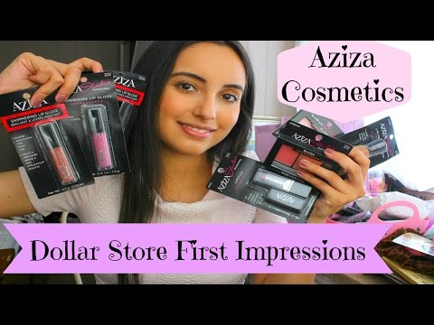 Dollar Store First Impressions: Aziza Cosmetics (With Demo!)