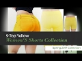 9 Top Yellow Women'S Shorts Collection Spring 2017 Collection