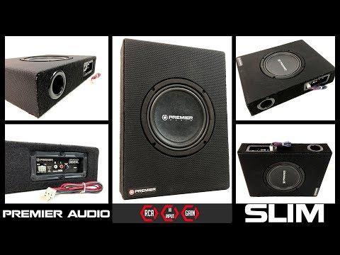 Caixa Slim Premier Audio - Subgrave compacto - [ Premier Shop ]
