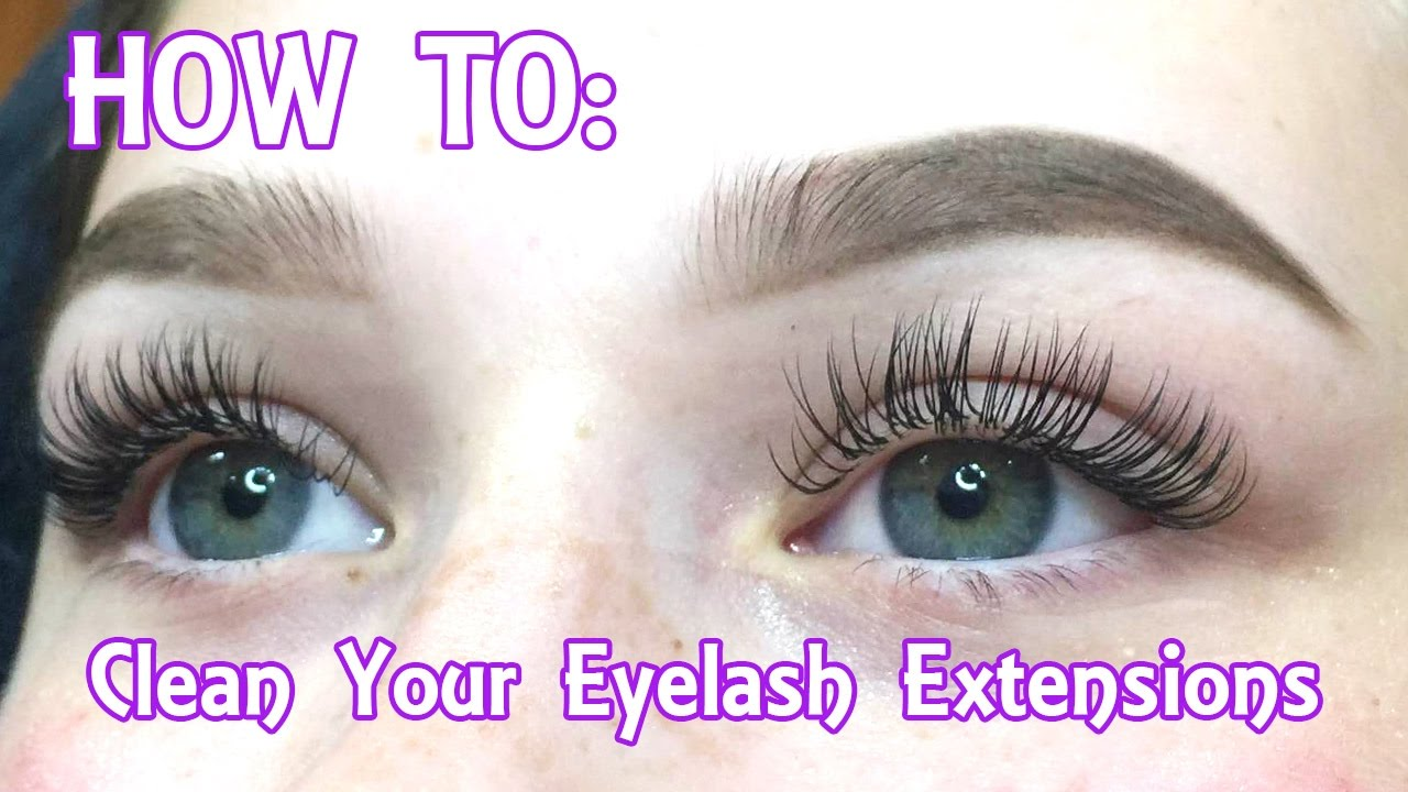 e77f71f71b8 Eyelash Extensions | How To Clean Your Face & Remove Your Makeup (In Depth)  - YouTube