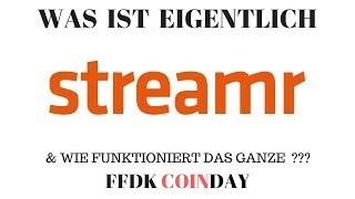 FFDK COINDAY - Was ist eigentlich Streamr DATAcoin ? Das bessere IOTA ? Gewinnspiel uvm