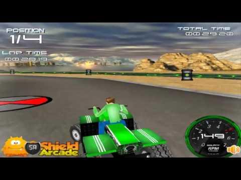 Игры 3d гонки бен 10