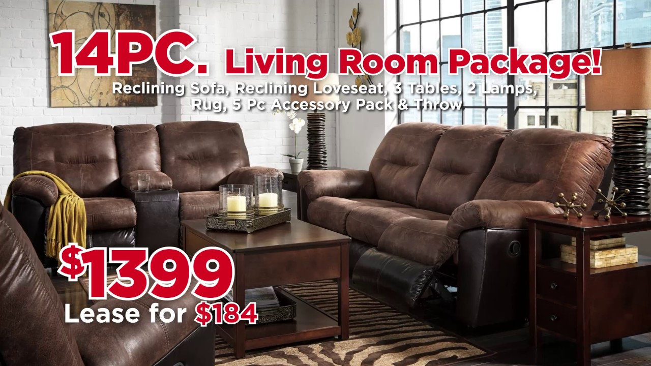 Presidents Day Living Room Packages 2