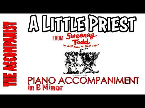 A Little Priest - from 'Sweeney Todd' by Stephen Sondheim -  Piano Accompaniment - Karaoke