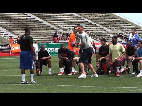 Thursday Practice session at Manning Passing Academy
