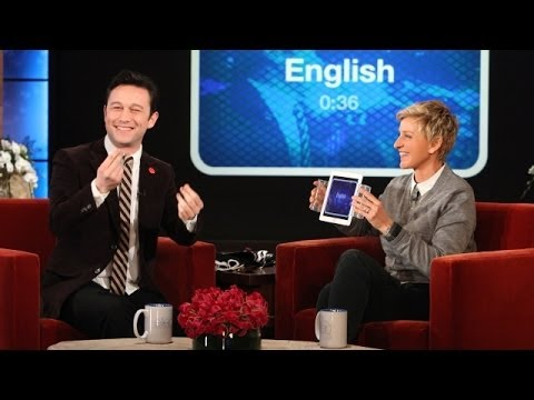 Joseph GordonLevitt Does Accents with 'Heads Up!'