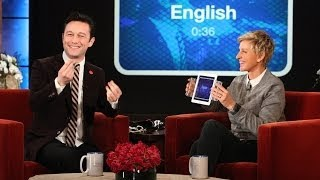 Joseph Gordon-Levitt Does Accents with 'Heads Up!'