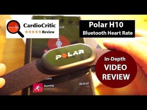 Polar H10 Bluetooth Heart Rate Sensor REVIEW
