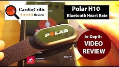 Polar H10 Heart Rate Sensor REVIEW. The Best Bluetooth HRM sensor of 2018. iOs & Android compatible