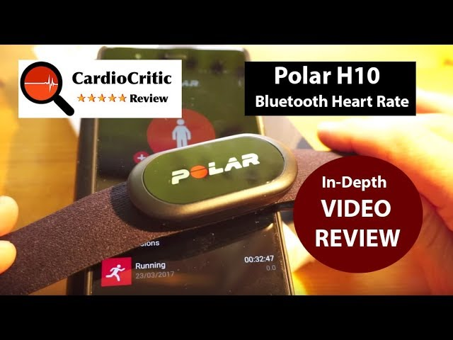 Polar H10 Heart Rate Sensor REVIEW  The Best Bluetooth HRM sensor of 2018   iOs & Android compatible
