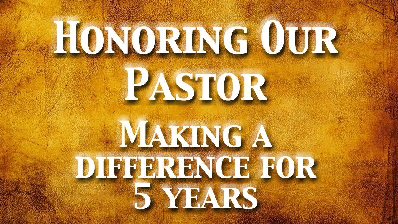 9/10/2017 - Cardboard Testimonies - Honoring Our Pastor ...