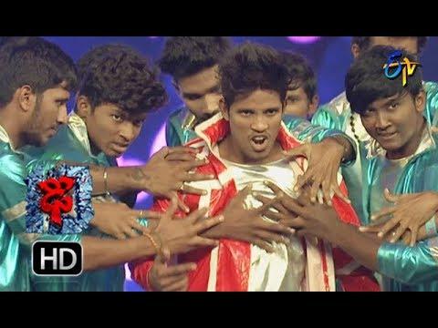 Raju Performance | Dhee 10 |  27th December 2017 | ETV Telugu