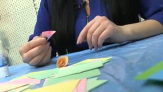 Кусудама - шар из цветов(Кусудама - шар из цветов Видео мастер-классы от разных мастеров по различным видам рукоделия помогут вам..., 2015-03-25T22:17:37.000Z)