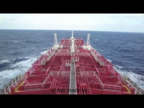Bridge of an chemical tanker