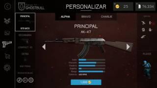 LA AK -47 EN BULLET FORCE Y LA MP5 EN CREDITOS ACTUALIZACION DE BULLET FORCE