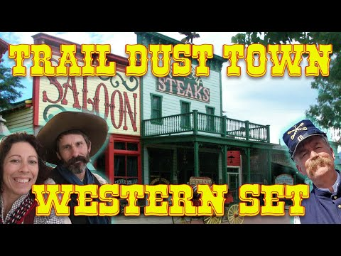Trail Dust Town Western Set