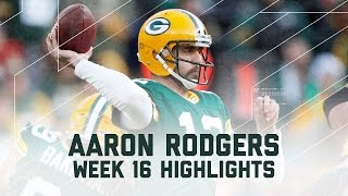 Aaron Rodgers 347 Pass Yards & 5 Total TDs! | Vikings vs. Packers | NFL Week 16 Player Highlights