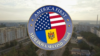 AMERICA FIRST, MOLDOVA SECOND (hand)
