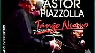 ASTOR PIAZZOLLA EN CONCIERTO - SEXTETO TANGO NUEVO - ADIÓS NONINO - BBC - 1989