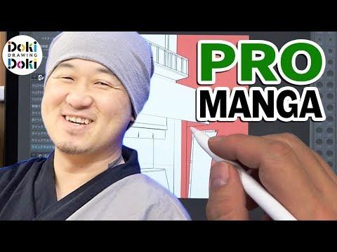DRAWING Manga BACKGROUND|Adding Characters