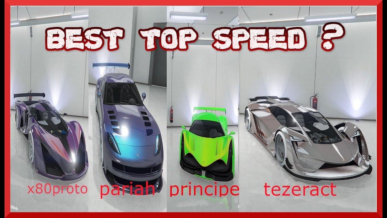 Qual E L Auto Piu Veloce Di Gta5 Online Scopriamolo Youtube