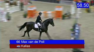 4yo KWPN stallion Kallas (Dallas VDL x Quality Time) in Zuidbroek, Dec. 2019