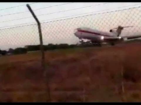 """""""Ese avión botó una llanta..."""", accidente Aerosucre Boeing 727 Puerto Carreño"""