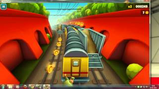 Subway surfers pc download and gameplay with keyboard and joystick