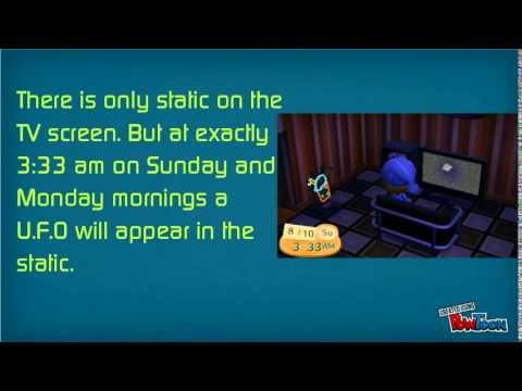 Animal Crossing: New Leaf - UFO Easter Egg - YouTube