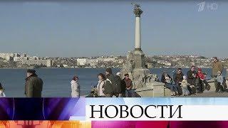 В пятилетнюю годовщину референдума в Крыму проходят гуляния и празднования.