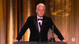 Steve Martin receives an Honorary Award at the 2013 Governors Awards