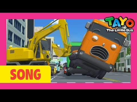 The Strong Heavy Vehicles l Tayo's Sing Along Show 1 l Tayo the Little Bus