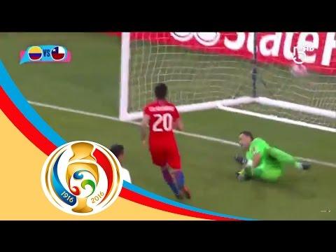 Resumen  Colombia 0 - 2 Chile | Copa América