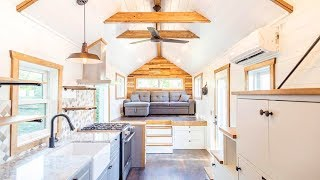 The 32ft Tedesco Tiny House On Wheels By Liberation Tiny Homes | Living Design For A Tiny House