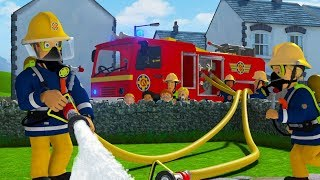 Strażak Sam bajki po polsku nowe odcinki   Uciekający ponton - Zaśpiewaj z Samem Bajki dla dzieci