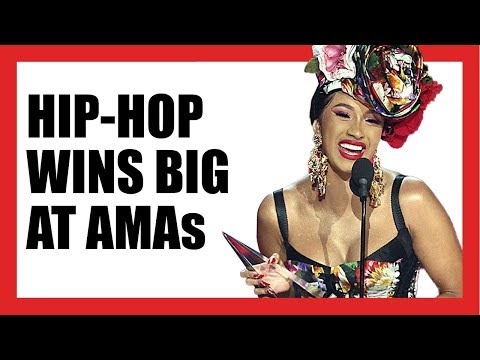 Hip-Hop Wins Big at 2018 American Music Awards Mp3