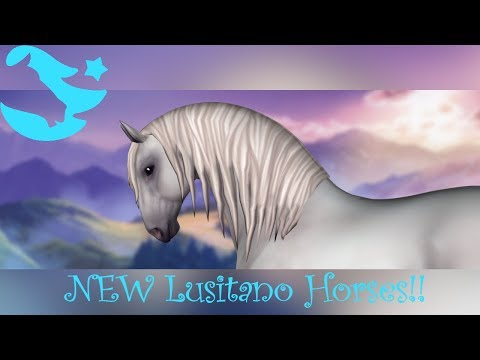 NEW Lusitano Horses! Trailer Reaction & Mini Review ~ Star Stable