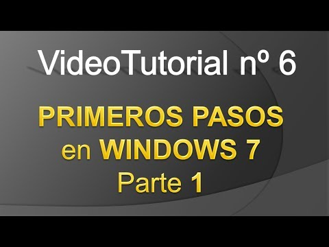 TPI - Videotutorial nº 6 - Introduccion Windows 7 - Parte 1