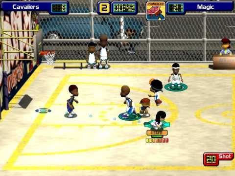Dante Robinson Backyard Baseball backyard basketball - dante robinson slam dunk!!! - youtube