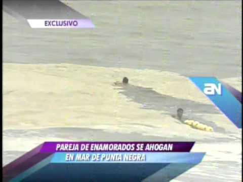 Pareja de enamorados muere ahogada en playa de Punta Negra