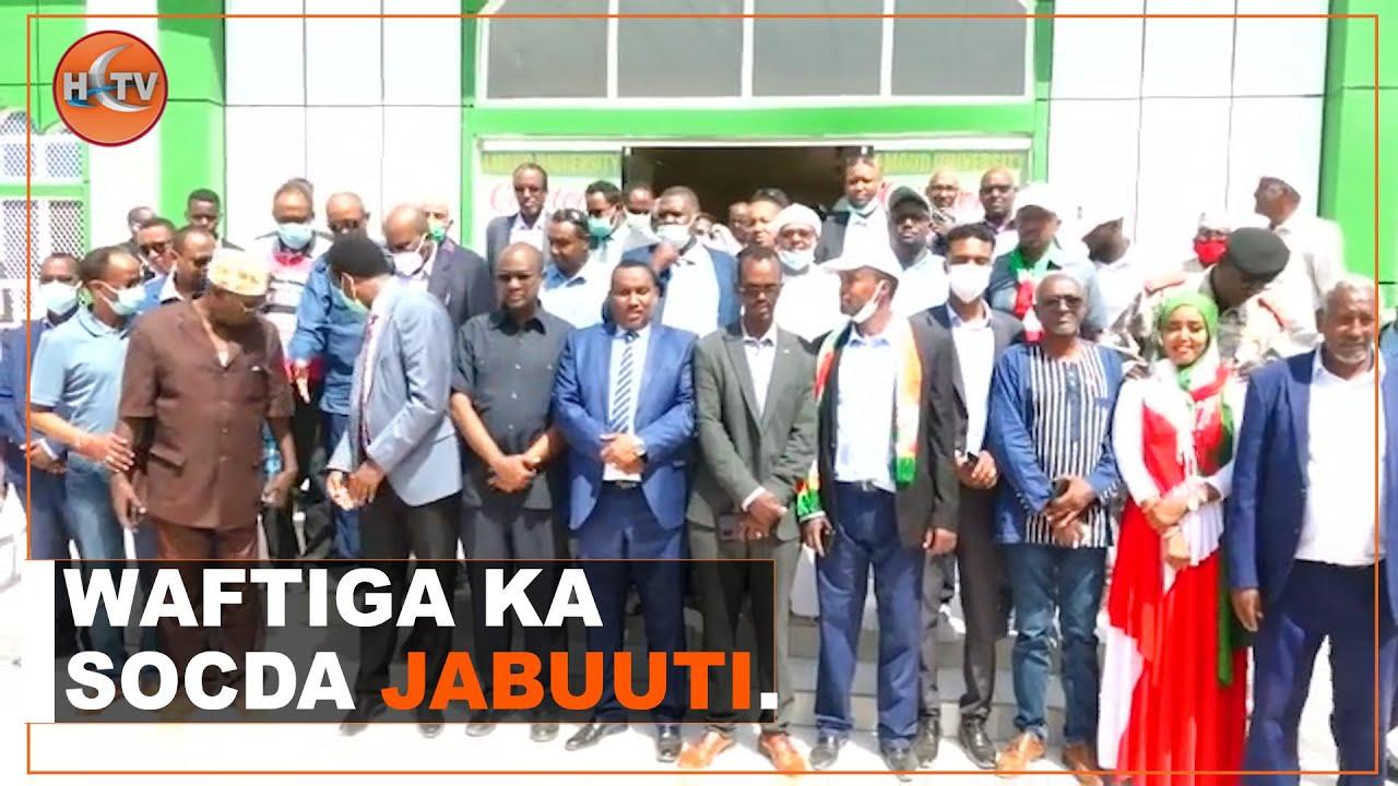 Download Wafdi Ka Socday Dalka Djibouti Ayaa Maanta Soo Gaadhay Gobolka Awdal.