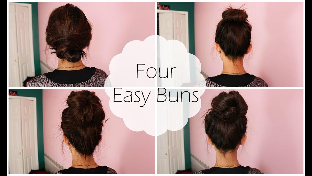 4 Easy Buns  Shawna