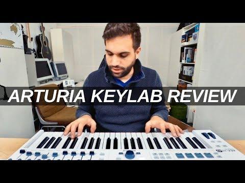 ARTURIA KEYLAB ESSENTIAL REVIEW - is it the best beginner midi keyboard ?