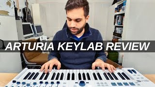 ARTURIA KEYLAB ESSENTIAL REVIEW - is it the best beginner midi keyboard ?