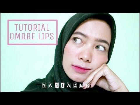 tutorial-ombre-lips-/-gradient-lips-untuk-bibir-hitam-|-yaniazer