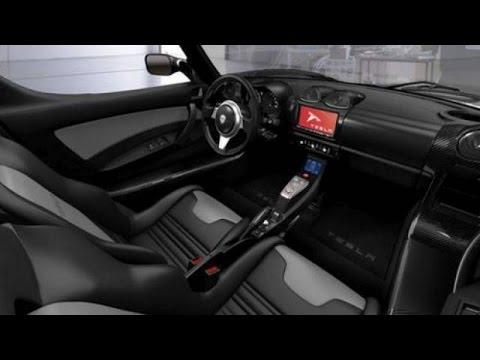 Tesla roadster 2020 interior